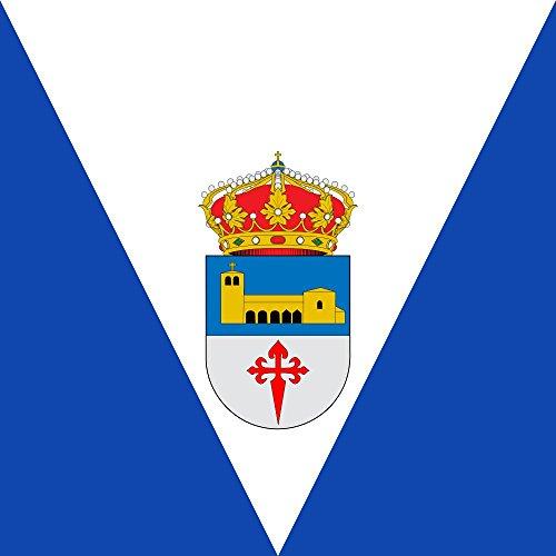 magFlags Bandera Large Municipio de Guaza de Campos Castilla y León   1.35m²   120x120cm
