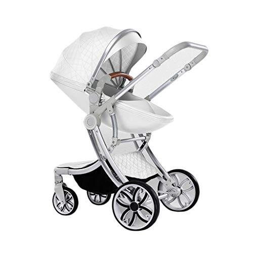 Gute Qualität Kinderwagen Buggys Kinderwagen Hochbett mit doppeltem Verwendungszweck Kann Sich hinsetzen Leicht und zweifach leicht mit Einer Hand zusammenfalten Baby Standardkinderwagen