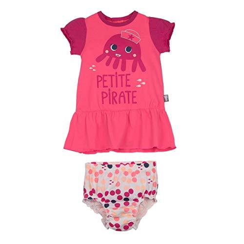Ensemble bébé fille robe + bloomer A l'eau - Taille - 36 mois (98 cm)