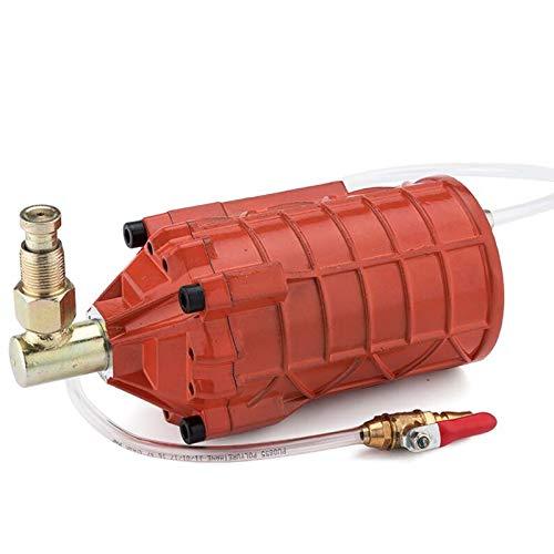 Aumentador de Presión de Gato Neumático de Grado Industrial, Bomba de Refuerzo de Gato Hidráulico de Gato de Aire de Alta Potencia (24mm, Redondo)