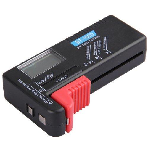 COLEMETER LCD TESTER PROVA PILE BATTERIE 9V 1,5V AAA C D VOLTAGGIO [Elettronica]