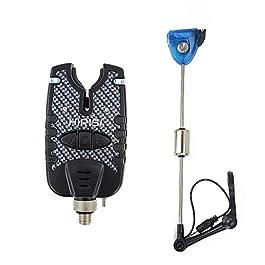 Détecteur de touche et balanciers LED pour pêche à la carpe.