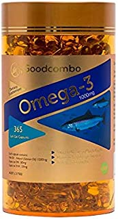 Goodcombo Omega 3 Fish Oil 1000mg 365s, 700 grams
