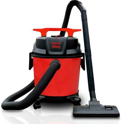 Inalsa Ultra WD10 Wet & Dry Vacuum Cleaner (Black, Orange)