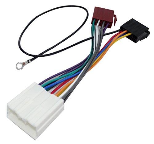 AERZETIX - E7 ISO-Konverter - Adapter - Kabel Radioadapter Radio Kabel Stecker ISO-Kabel Verbindungskabel Mitsubishi Konform
