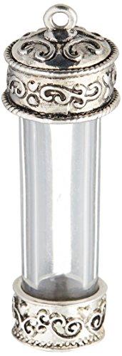 Solid Oak Colgante de Cristal Tema Steampunk y Forma de Frasco, acrílico, Multicolor, 3Piezas