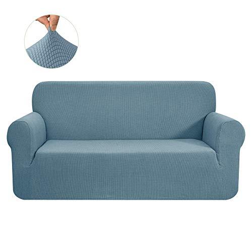 CHUN YI 1-Pezzo Elasticizzato Jacquard Copridivano Coprisofà Sofa Cover Jacquard per Casa Decorativa (Divano, Cielo Blu)