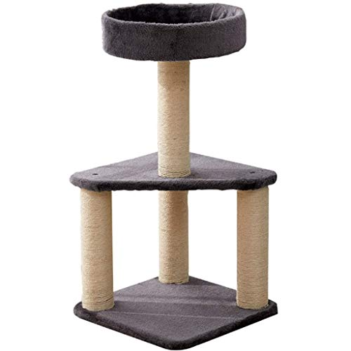 Productos para el hogar Marco de escalada para gatos Estante para gatos de sisal Nido de gato Una garra de molienda Poste para rascar para gatos Postes para juguetes para gatos Muebles para gatos C