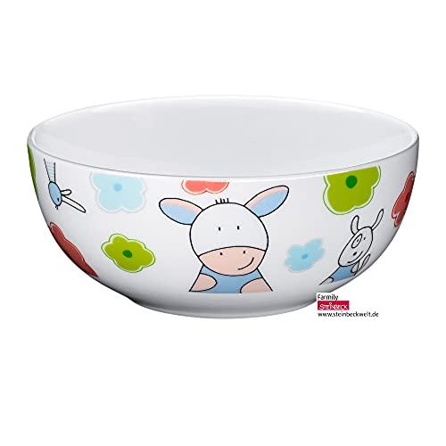 WMF Farmily Kindergeschirr Kinder-Müslischale 13,8 cm, Porzellan, spülmaschinengeeignet, farb- und lebensmittelecht
