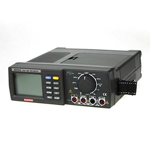 MASTECH MS8040 True RMS DMM banco parte superior multímetros 22000 conteo automático de Rango w/gorra. Frecuencia de. Condición de temperatura
