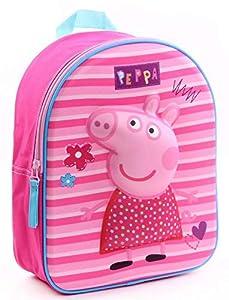 Peppa Pig 30cm 3D Pretty Mochila Tiempo Libre Y Sportweunisex Infantil, Juventud Unisex, Multicolor (Multicolor), 30 Cm