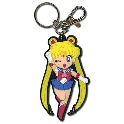 Great Eastern Entertainment Sailormoon SD Sailor Moon PVC Keychain,Multi-colored,2'