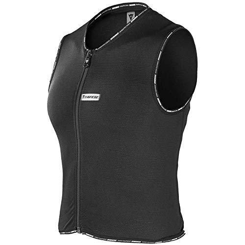 Dainese - Chaleco Protector de Espalda para Mujer, Talla pequeña, Color Negro