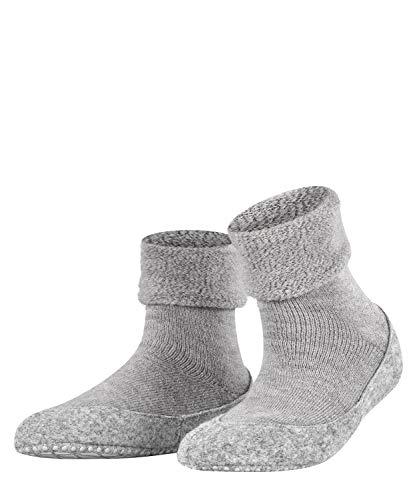 FALKE Damen Cosyshoe W HP Hausschuh-Socken, Blickdicht, Grau (Light Grey 3400), 37-38