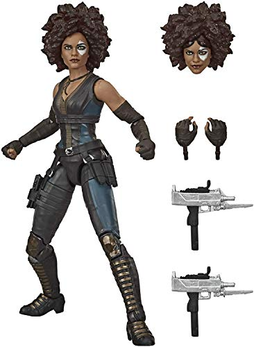 Hasbro Marvel Legends Series X-Men 6-inch Collectible Marvel's Domino Action Figure Toy, Ages 14 and Up