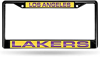 Rico Industries NBA Unisex-Adult NBA Laser Cut Inlaid Standard Chrome License Plate Frame