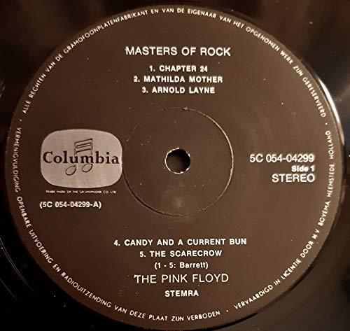 MASTERS OF ROCK VOL 1 VINYL LP PINK FLOYD IMPORT - 2