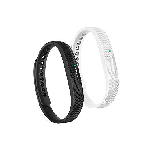 Fit-Power Fitbit Flex 2 armband, zachte siliconen reservearmband, armband met metalen sluiting, armband voor Fitbit Flex 2 Fitness Tracker