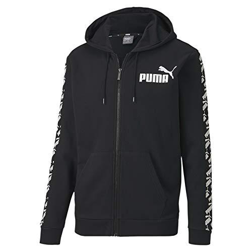 PUMA Herren Pullover Amplified Hooded Jacket TR, Black, L, 581396