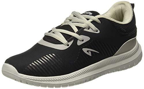 Aqualite Men's Black/Grey Running Shoes-10 UK/India (44 EU) (MAX-304)