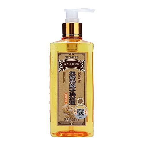 Champú de jengibre, champú hidratante, multifunción seguro, práctico, mejora la pérdida de cabello, limpia el cabello, limpia el cuero cabelludo para nutrir el cabello