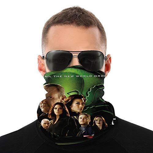 Bandanas para la cabeza de los agentes del escudo de la variedad de bufandas para el cuello y la cara al aire libre, para hombres y mujeres