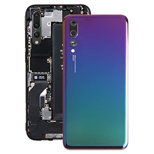 Zhangli Tapa Trasera del telefono Tapa Trasera de batería con Lente de cámara para Huawei P20 Pro contraportada (Color : Twilight)