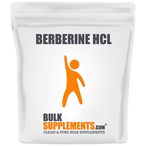 Bulksupplements.com Berberine HCl Powder - Berberine 500mg - Digestive Supplements - Gallbladder Supplements - Fasting Supplement (100 Grams)