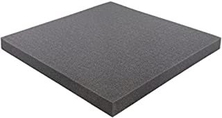 Pick and Pluck - Pre-Cubed foam tray 300 mm x 300 mm x 25 mm (11.8 inch x 11.8 inch x 1 inch) plus FREE bottom