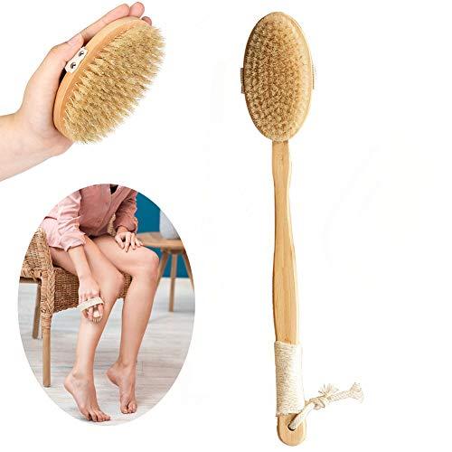 SURDOCA Spazzola per doccia con manico lungo – Spazzola per il corpo di terza generazione – Spazzola per la doccia – Spazzola per il corpo da bagno