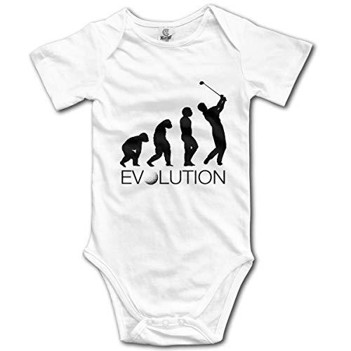 Klotr Unisexe Body Bébé Garçon Fille Golf Evolution Newborn Bodysuits Manche Courte Combinaisons et Barboteuses Set