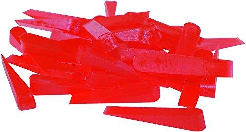 Stubai 419820 Pack de 250 cuñas de baldosas (plástico, 5 x 31 x 7 mm), 5x31x7mm