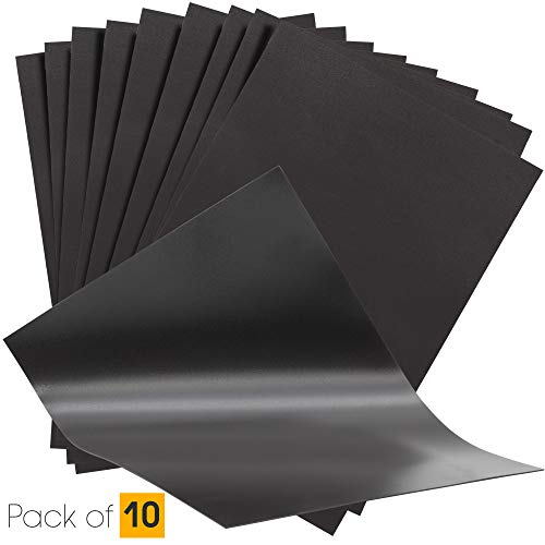 10 A4 Magnético Hojas 0,5 mm para Spellbinder Troqueles/Manualidades - Fuerte, Delgado & Flexible