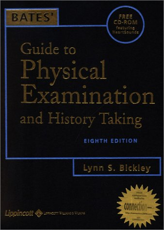 Bates' Guide to Physical Examination & History Taking (Book with CD-ROM)
