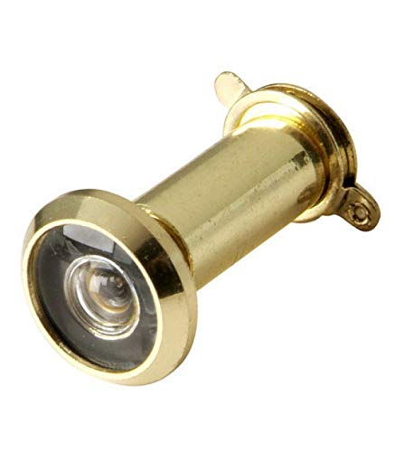 WOLFPACK LINEA PROFESIONAL 3091415 Mirilla Puerta 25-40 mm. Latonada (Blister 1pieza)