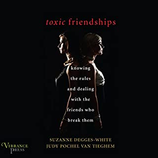 Toxic Friendships audiobook cover art
