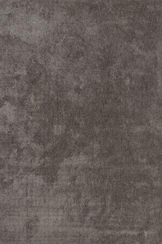 Hoogpolig hoogwaardig tapijt Shaggy designer aanbieding moderne tapijten 80cm x 150cm platinum