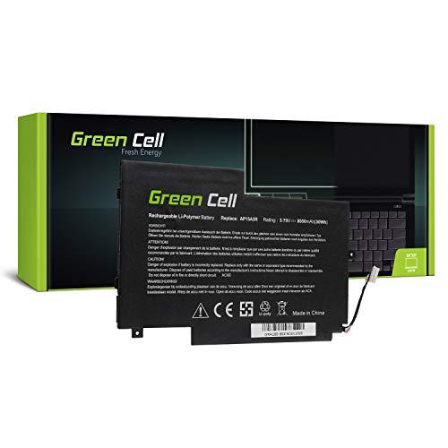Green Cell® AP15A3R AP15A8R Batería para Acer Aspire Switch 10E 10 E SW3 SW3-013 SW3-013P SW3-016 Ordenador (8050mAh 3.75V Negro)