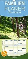 Bike Dreams - Familienplaner hoch (Wandkalender 2022 , 21 cm x 45 cm, hoch): Bike Pictures from different Countries (Monatskalender, 14 Seiten )