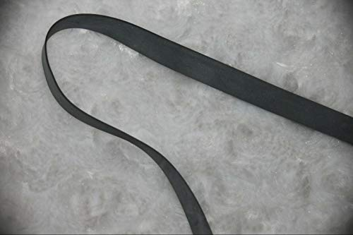 10 Yards Gray 1/4' Rubber Swimwear Swim Bathing Suit Sewing Supplies...