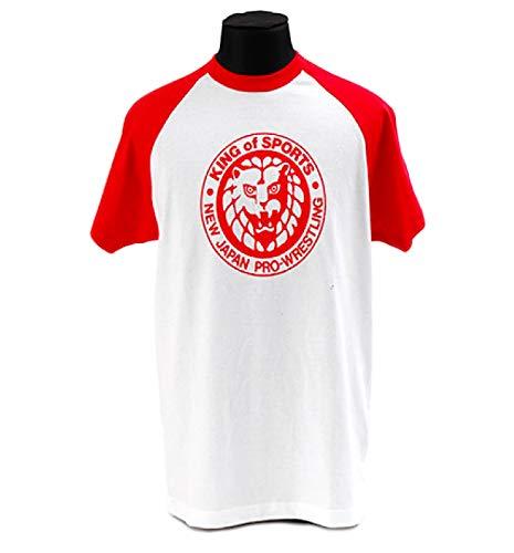 新日本プロレス キング・オブ・スポーツ クラシック Tシャツ (赤) S