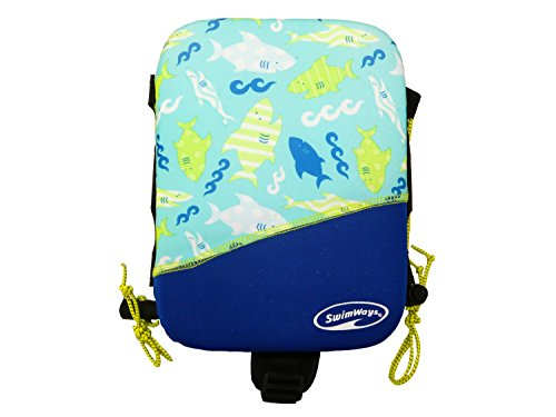 SwimWays Power Swimr Medium - Blue Shark