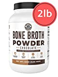 Bone Broth Protein Powder, Chocolate, Grass Fed [2lbs/ 42...