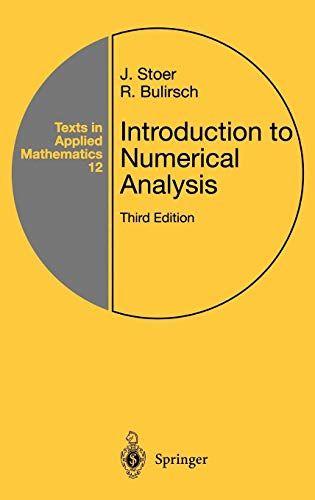 Introduction to Numerical Analysis (Texts in Applied Mathematics)