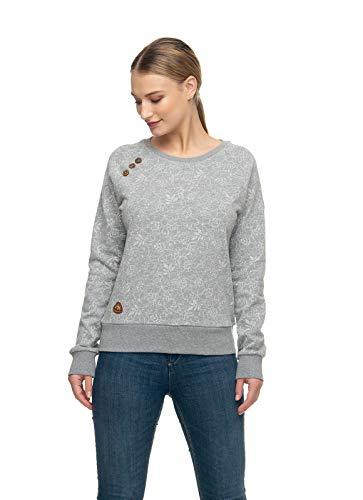 Ragwear Damen Bio Sweatshirt Pullover Johanka Größe: L Farbe: Grey