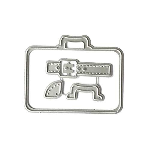 Tvvudwxx Scrapbooking Stanzbögen - Kofferraum - Präge Schablonen Für DIY Alles Papier Karten Geschenk Stanzschablone Stanzformen