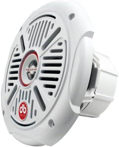db Drive APS 8.0W Amphibious Marine Coaxial Speakers 350W, Set of 1 (White)
