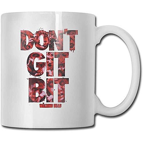 Don 't Git Bit-The Walking_Death Tazas de té Tazas de café