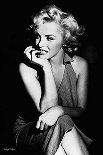 Marilyn Monroe - Sitting 36x24 Photograph Art Print Poster