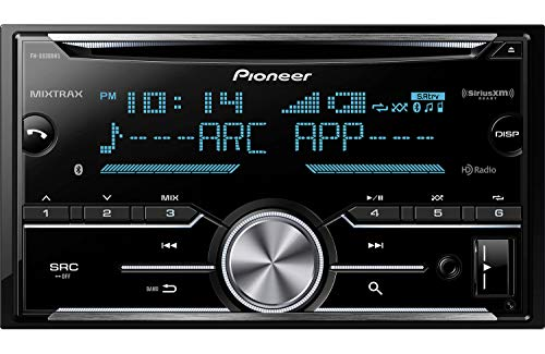 Pioneer FH-X830BHS Double Din CD Receiver with Built-In Bluetooth & HD Radio (Renewed)